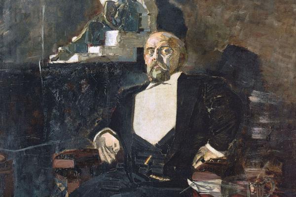 Михаил Александрович Врубель. Портрет С. И. Мамонтова