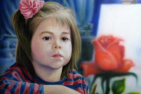 Sandro. Юная художница