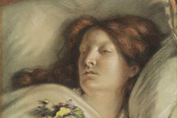 Форд Мэдокс Браун. Портрет жены художника