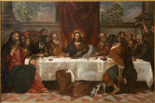 Тициан Вечеллио. Тайная вечеря