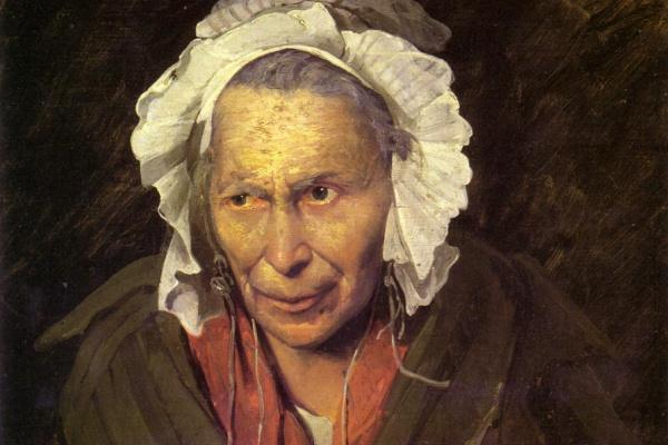 Теодор Жерико. Сумасшедшая старуха. Портрет одержимой завистью