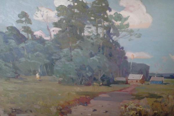 Олег Николаевич Михайлов. Лето