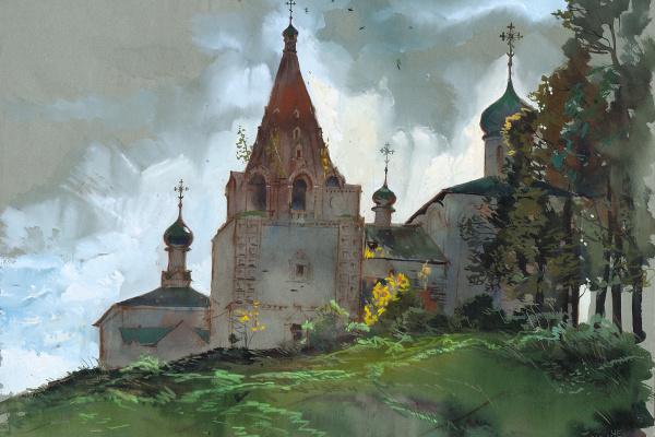Евгений Константинович Чивиков. Архитектурный пейзаж