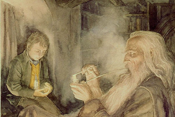 Алан Ли. Фродо и Гендальф