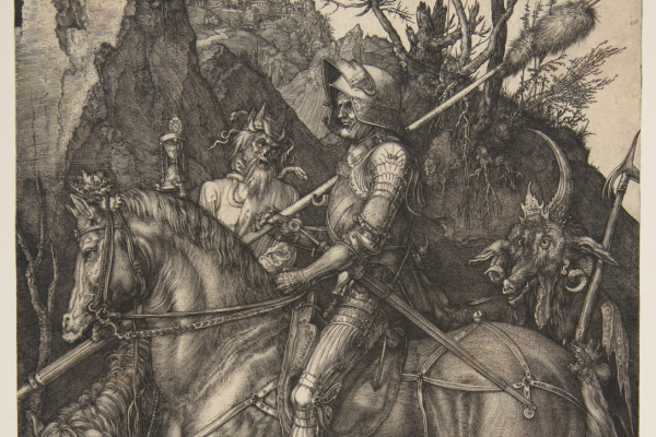Альбрехт Дюрер. Рыцарь, Смерть и Дьявол