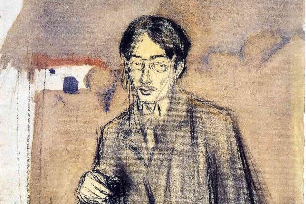 Пабло Пикассо. Портрет Хайме Сабартеса, сидя
