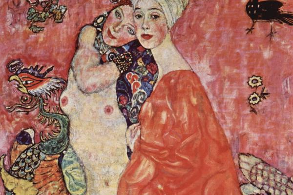 Gustav Klimt. Friend