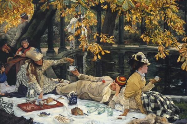 Джеймс Тиссо. Пикник