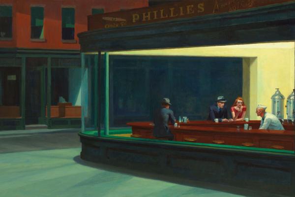 Edward Hopper. Nighthawks