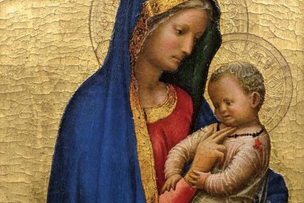 Томмазо Мазаччо. Мазаччо. Мадонна с Младенцем, 1427