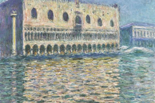 Claude Monet. Le Palais Ducal