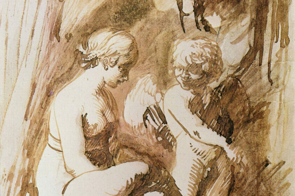 Адам Эльсхаймер. Венера и Амур