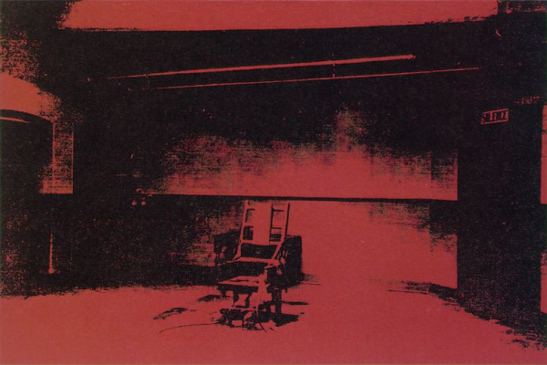 Andy Warhol. Electric chair