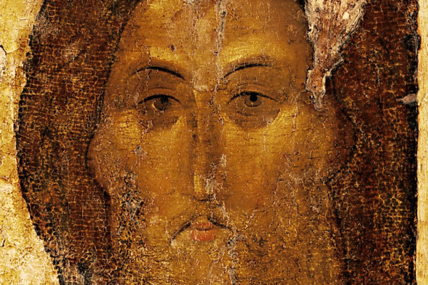 Andrey Rublev. Saved. Icon of the Zvenigorod Deesis Order (fragment)