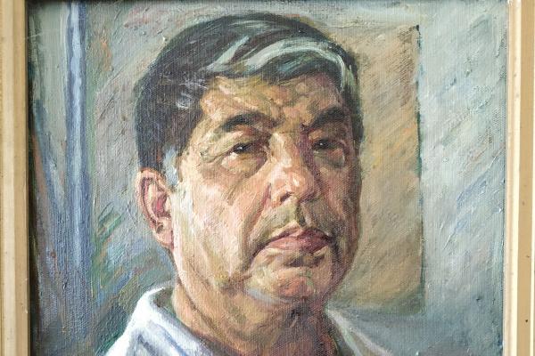 Najim Kaziev. Auto portrait