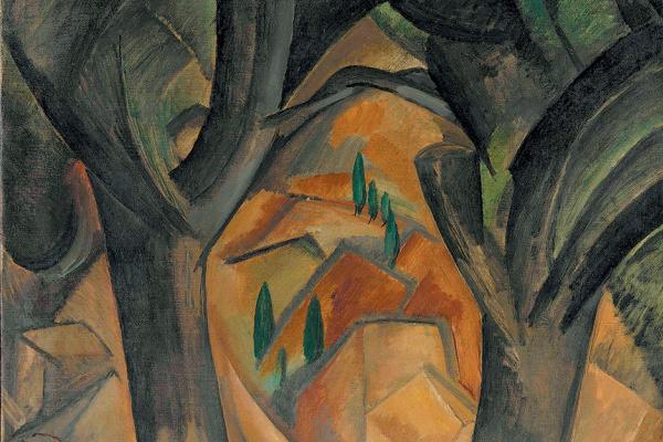 Жорж Брак. Деревья в Л'Эстаке
