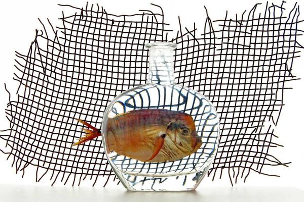 "Владимир Николаевич Безгрешнов. Still life ,, Fish """