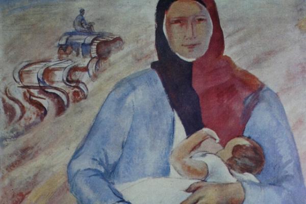 Павел Варфоломеевич Кузнецов. Мать. 1930