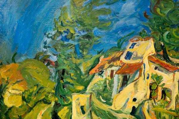 Haim Solomonovich Soutine. Landscape
