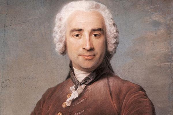 Морис Кантен де Латур. Мужской портрет