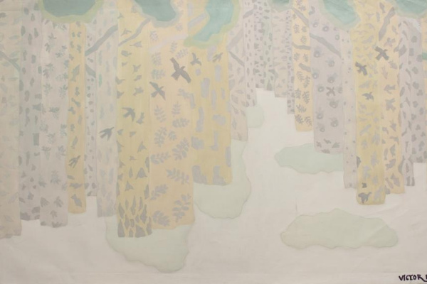 Victor Nikolaevich Goncharov. Sounds of birch grove