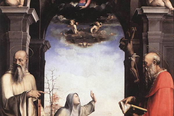 Domenico Beccafumi. St. Catherine