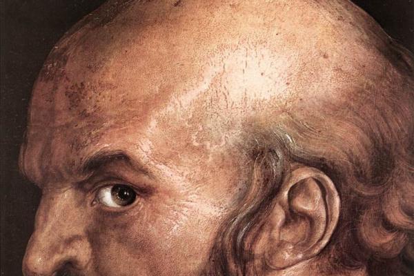 Альбрехт Дюрер. Голова Святого