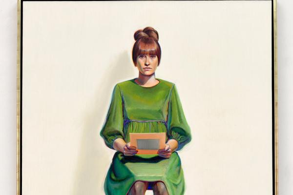 Уэйн Тибо. Зеленое платье