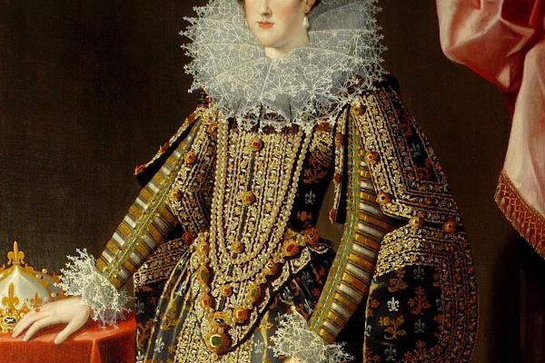 Санти ди Тито. Портрет Марии Медичи
