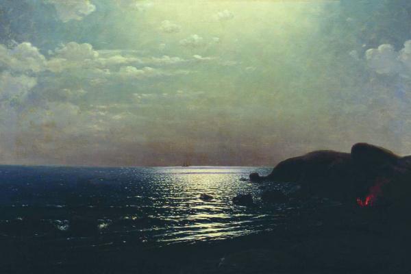 Архип Иванович Куинджи. Лов рыбы на Черном море