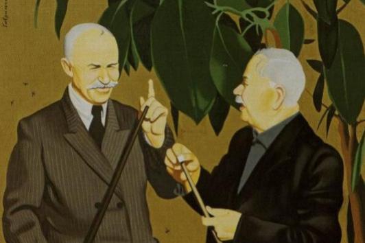 Владлен Васильевич Гаврильчик. Игра в биллиард