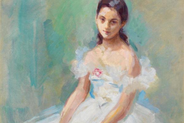 Konstantin Alekseevich Korovin. Portrait of the ballerina Yolanda Lakka