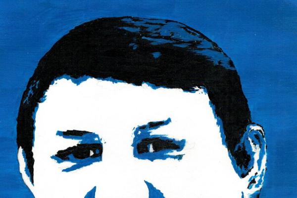Анастасия Александровна Руденя. Портрет супруга