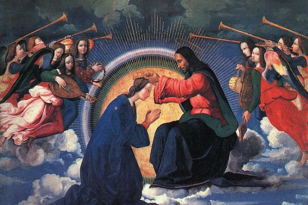 Ридольфо Бигорди Гирландайо. Коронование Марии