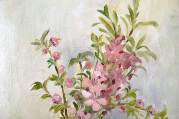 """Марианна Маслова. Цветы Миндаля и неизвестного дерева (из серии """"Биография в букетах"""")"""