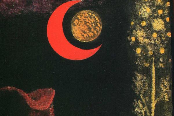 Пауль Клее. Красная луна