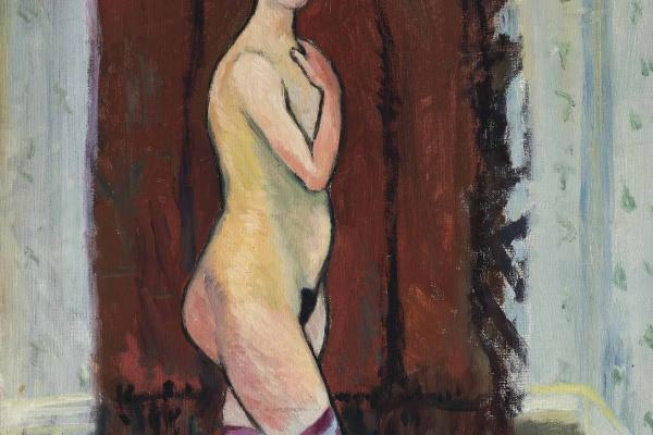 Suzanne Valadon. Nude in boots