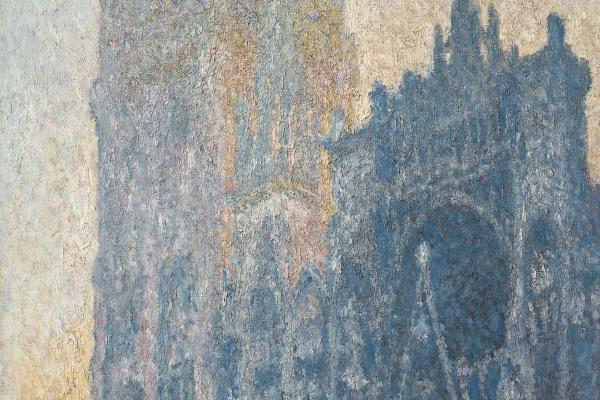 Клод Моне. Главный вход в Руанский собор (утренний эффект)
