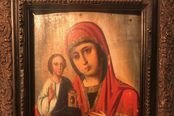 Yuri Dorofeev. Icon. Mother of God Right-Handed.