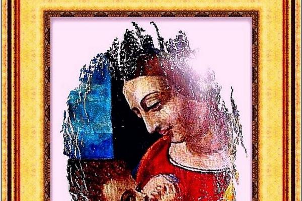 Jurgen Beuttcher. Мадонна с младенцем..