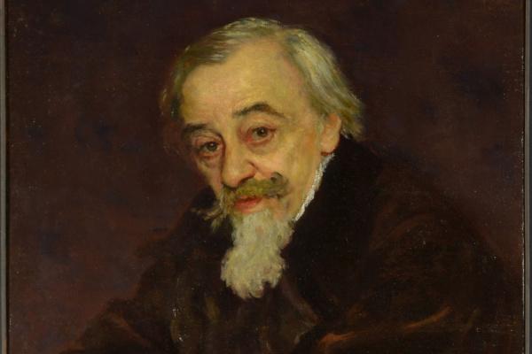 Ilya Efimovich Repin. Portrait of V.V. Samoilov