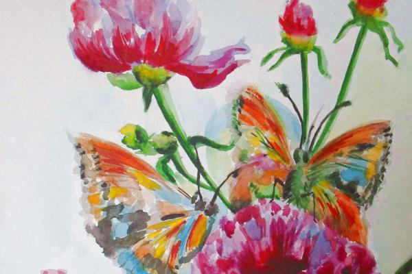 Алёна Голованова. Бабочки