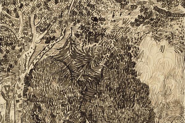 Винсент Ван Гог. Парк с забором