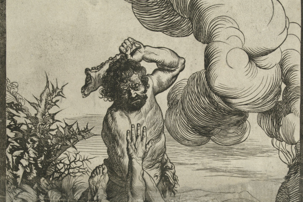 Ян Ливенс. Каин убивает Авеля