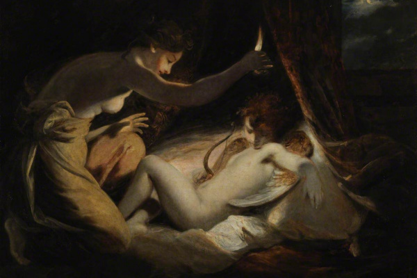 Joshua Reynolds. Cupid and Psyche