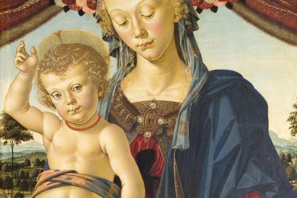 Пьетро Перуджино. Мадонна с Младенцем
