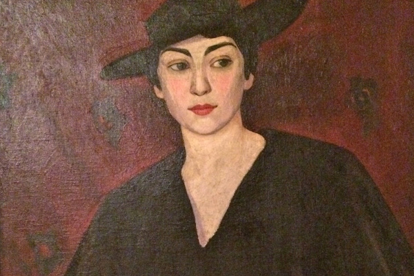 LeBlanc_M. Portrait of the wife