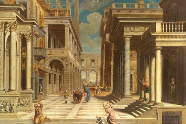 Парис Бордоне. Явление Сивиллы императору Августу
