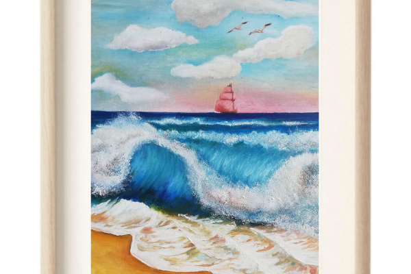 Elena Lobanova. Scarlet Sails