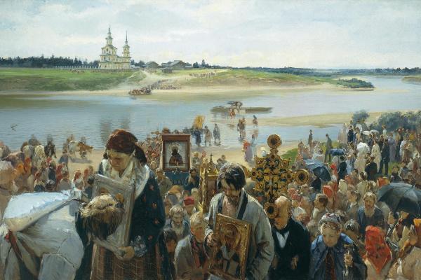 Илларион Михайлович Прянишников. Крестный ход. 1893